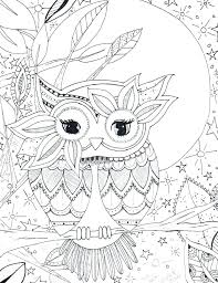 Cartoon Owl Coloring Pages Page Of Graduate Cartoon Owl Coloring
