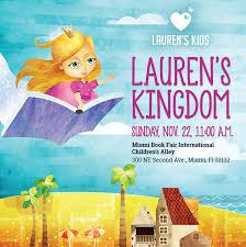 check out lauren s kingdom at the miami book fair