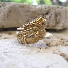 14k mermaid ring