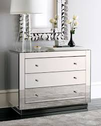 modern mirrored furniture. adore everything about this mirrored chest modern crystal lamp silver rug venetian furniture e