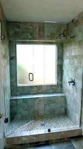 Tile Shower Enchanting Shower With Window Window In Shower Tile Bathroom Design With Glass Shower Door In Block Bloomrudibaugh Bathroom Design Enchanting Shower With Window 2018 Bedroom Gallery