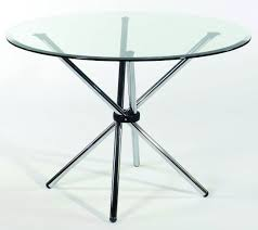 hydra round dining table glass top neo furniture for modern set extension designer extendable chairs circular in