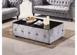 yallambie tufted coffee table with
