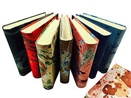 Hand Marbled Paper Photo Albums Conti Borbone Bookbinder