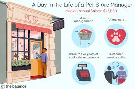 Customer Service Job Description Retail Pet Store Manager Job Description Salary Skills More