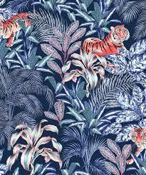 Jungle Tiger Wallpaper • Opulent Jungle ...