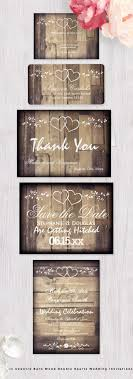 best 25 rustic wedding invitations ideas only on pinterest Rustic Wedding Invitation Cards rustic country barn wood double hearts wedding invitations set rusticweddinginvitations rustic wedding invitation cardstock