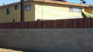 Decorative Fence Toppers Build A Privacy Fence On Top Of A Block Wall Youtube