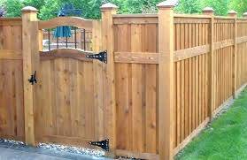 wooden yard gates fence e gate top patterns backyard door outdoor handle hinges garden plans ideas front yard fence gates