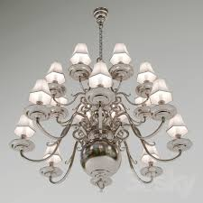 3d models ceiling light chandelier lillianne double tiered chandelier circa lighting designer ralph lauren home