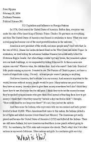 essay zerooutoffive page  peter nguyen s essay on us capitalism