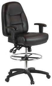 harwick multi function leather drafting chair model 100kl