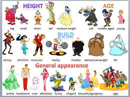 how to describe people in english eage tutor describe people in english