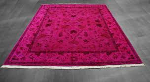 ont hot pink area rug rugs decoration