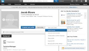 How To Add Resume To Linkedin Amazing How To Upload Your Resume To LinkedIn Job Market Social Networking