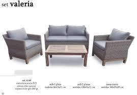 valeria sofa set