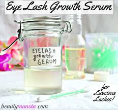diy natural eyelash growth serum for thicker longer lashes