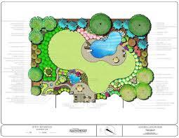 Impressive Landscape Design Plans Backyard Landscape Awesome How To Best Backyard Landscape Design Plans