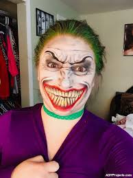 lady joker makeup