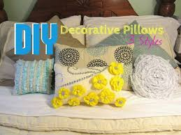 How To Make A Decorative Pillow Cover