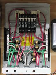 how to install circuit breaker box facbooik com Replacing A Fuse Box With A Breaker Box circuit breaker wiring diagrams do it yourself help replace a fuse box with a breaker box