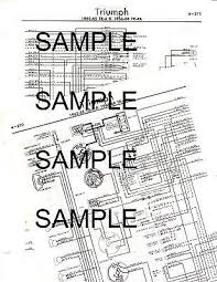 triumph tr wiring diagram triumph wiring diagrams