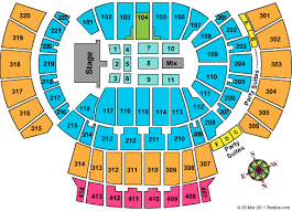 Atlanta State Farm Arena Seating Chart Philips Arena Seating Chart