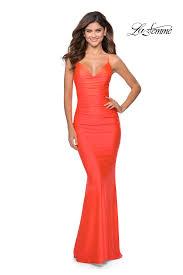 La Femme Prom Dresses Size Chart La Femme Prom Dresses Style 29020 La Femme