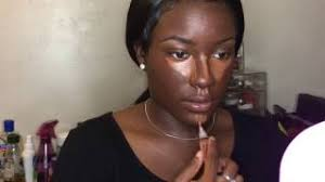 fall makeup tutorial for dark skin highligh