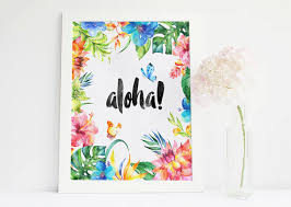 il 570xn on wall decor prints with aloha sign tropical print aloha prints tropical wall decor