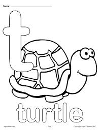 Wikijunior:classic alphabet coloring book/all pages. Letter T Alphabet Coloring Pages 3 Printable Versions Supplyme