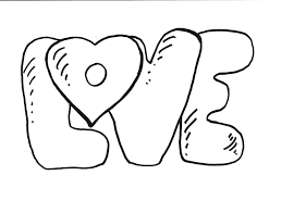 Small Picture Love Coloring Page Inside Coloring Pages esonme