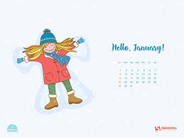 January Winter Desktop Wallpapers on ...