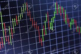 Stock Exchange Chart Graph Finance Business Background Abstract