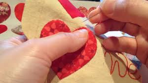 Red Heart Appliqué Tutorial For Beginners | How to make a Hearts ... & Red Heart Appliqué Tutorial For Beginners | How to make a Hearts Appliqué  Pillow Pillowcase - YouTube Adamdwight.com