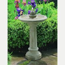 bird bath fountains kinsey garden decor