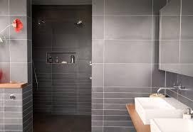 Modern Bathroom Tile Gray