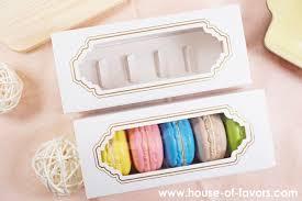 14 2 x 5 1cm macaron box with window