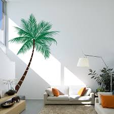 Palm Tree Decor For Living Room Wall Decal Beautiful Palm Tree Decal For Wall Palm Tree Decals