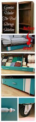 classic diy repurposed furniture pictures 2015 diy. Genius DIY Under The Bed Storage Solution Classic Diy Repurposed Furniture Pictures 2015