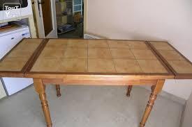 Renover Table Carrelée