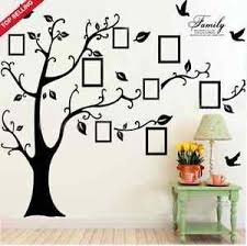 image is loading x large family tree birds photo frame quotes  on wall art decals family tree with x large family tree birds photo frame quotes wall stickers art