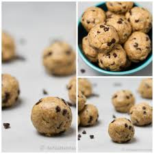 peanut butter chocolate chip cookie dough bites. Simple Peanut Peanut Butter Chocolate Chip Cookie Dough Bites A Healthy Treat Made From  Simple No With Bites H