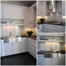 Beautiful Tiles For Kitchen The Beautiful Snow Glass Subway Tile Makes A Wonderful Kitchen