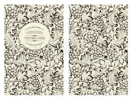 design for you personal cover vine pattern vine theme for book cover wine texture ilration in style of engraving vector ilration