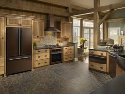 Mosaic Kitchen Floor Kitchen Appliances Mosaic Kitchen Flooring With Bronze Colored