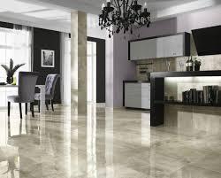 ceramic floor tiles modern white kitchen