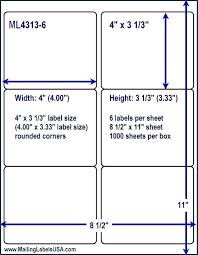 Word Avery Avery Labels 8 Per Sheet Word Template Lera Mera Business Document