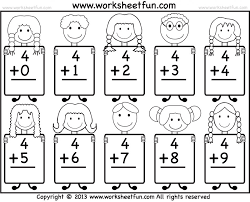 Free Printable Holiday Worksheets Kindergarten Christmas Math For ...