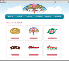 products page south jersey custom web design portfolio island ice cream